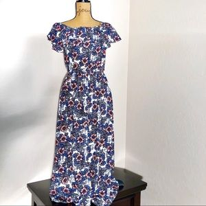 Modcloth AS by Anna Smith Maxi Floral Dress {8}